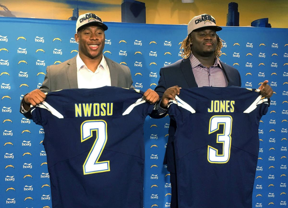 low priced dabc8 d9b8d Los Angeles Chargers 2018 Rookie Class – Los Angeles Sports ...
